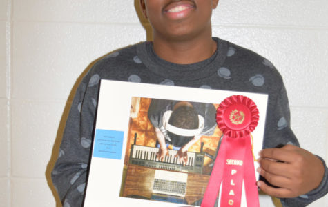 Junior Isaiah Chatman places in photography competition