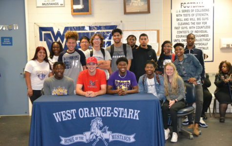 Senior Sports Players Sign for College