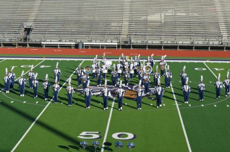 M3Band Receives Excellent Rating at UIL Marching Contest