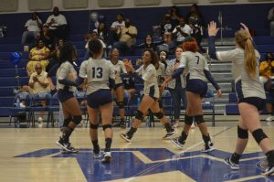 Volleyball Seniors Honored at Fridays Game