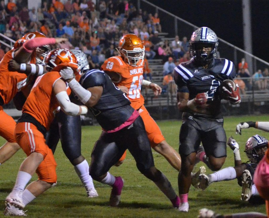 Mustangs Tear Up the Bobcats, 27-7