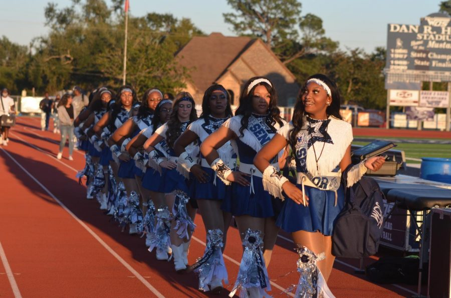 Fillies Entertain the Crowds at Halftime